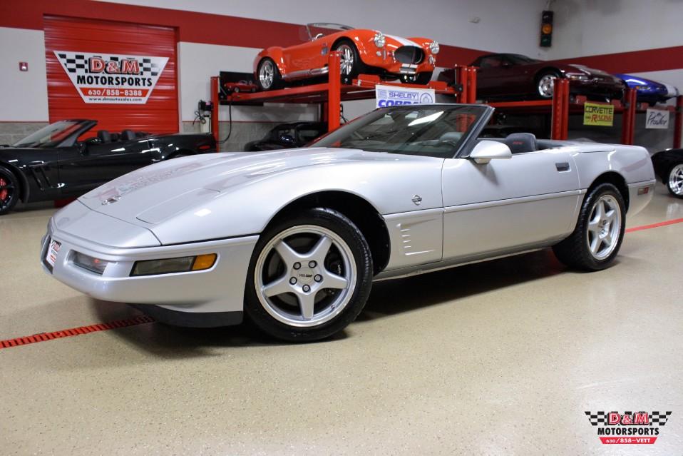 1996 chevrolet corvette collector 39 s edition convertible stock m5594 for sale near glen ellyn. Black Bedroom Furniture Sets. Home Design Ideas