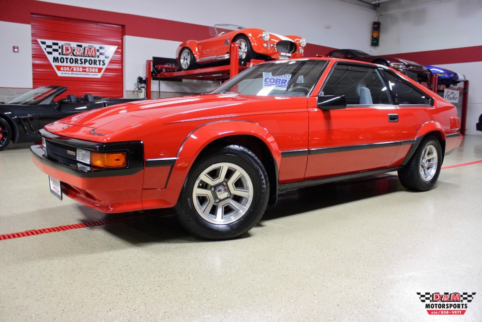 1984 toyota celica supra stock m5626 for sale near glen. Black Bedroom Furniture Sets. Home Design Ideas