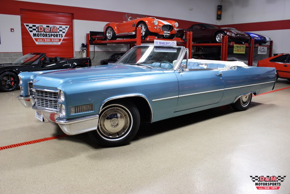 1966 Cadillac Deville Convertible Stock Cdt1 For Sale
