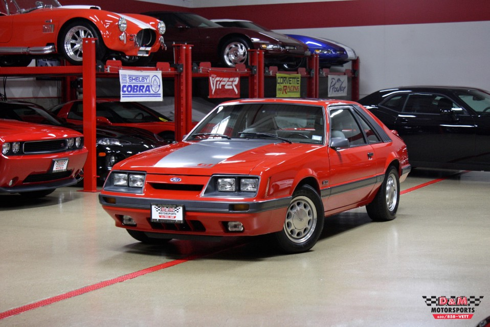 1986 ford mustang gt stock m5677 for sale near glen ellyn il il ford dealer. Black Bedroom Furniture Sets. Home Design Ideas