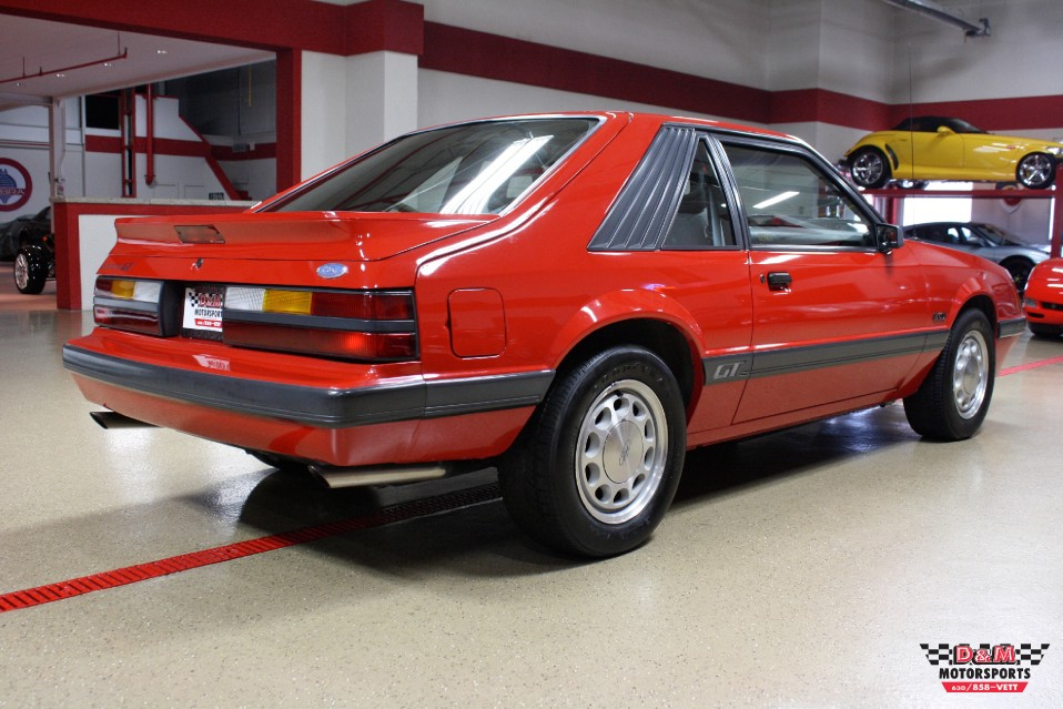 Winter Tires For Sale >> 1986 Ford Mustang GT Stock # M5677 for sale near Glen Ellyn, IL | IL Ford Dealer