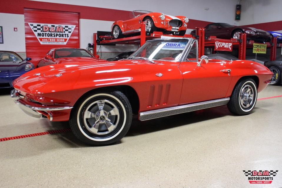 1966 Chevrolet Corvette Convertible Stock # M5721 for sale near Glen