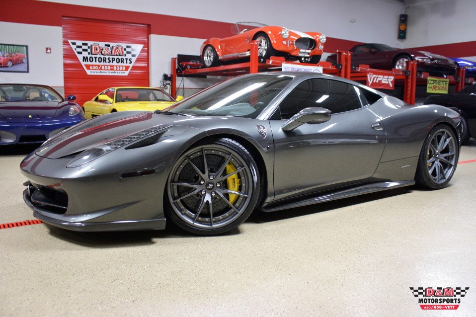 2010 Ferrari 458 Italia Stock M5687 For Sale Near Glen Ellyn Il