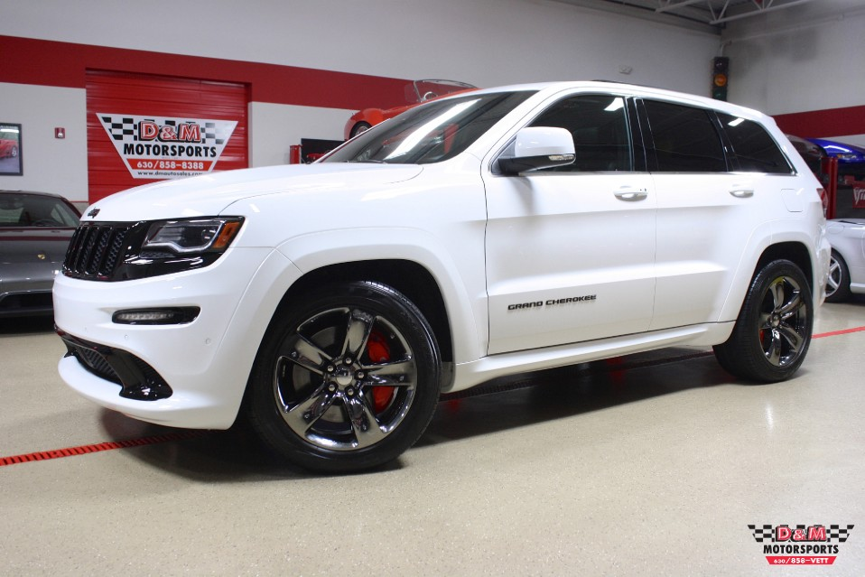 2015 Jeep Grand Cherokee SRT Red Vapor Edition Stock ...