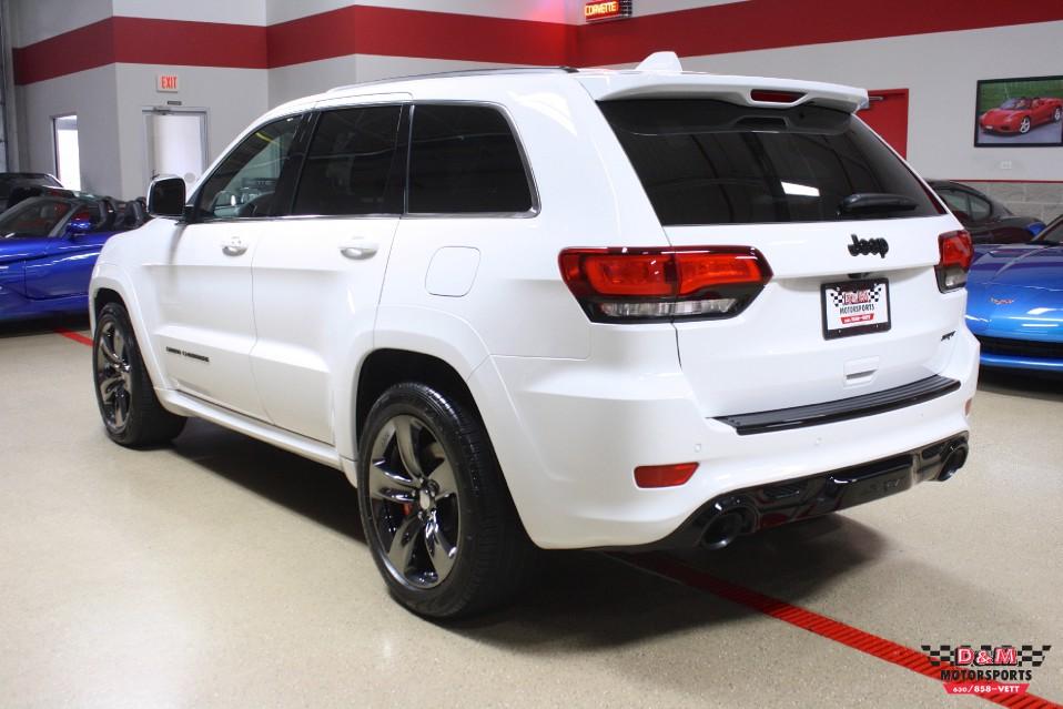 2015 jeep grand cherokee srt red vapor edition stock m5726 for sale near glen ellyn il il. Black Bedroom Furniture Sets. Home Design Ideas