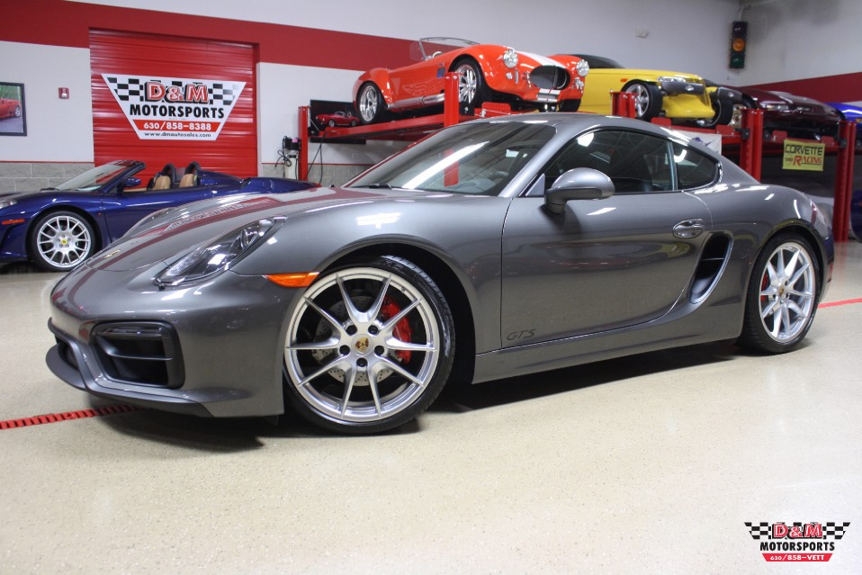 2015 porsche cayman gts stock m5728 for sale near glen ellyn il il porsche dealer. Black Bedroom Furniture Sets. Home Design Ideas