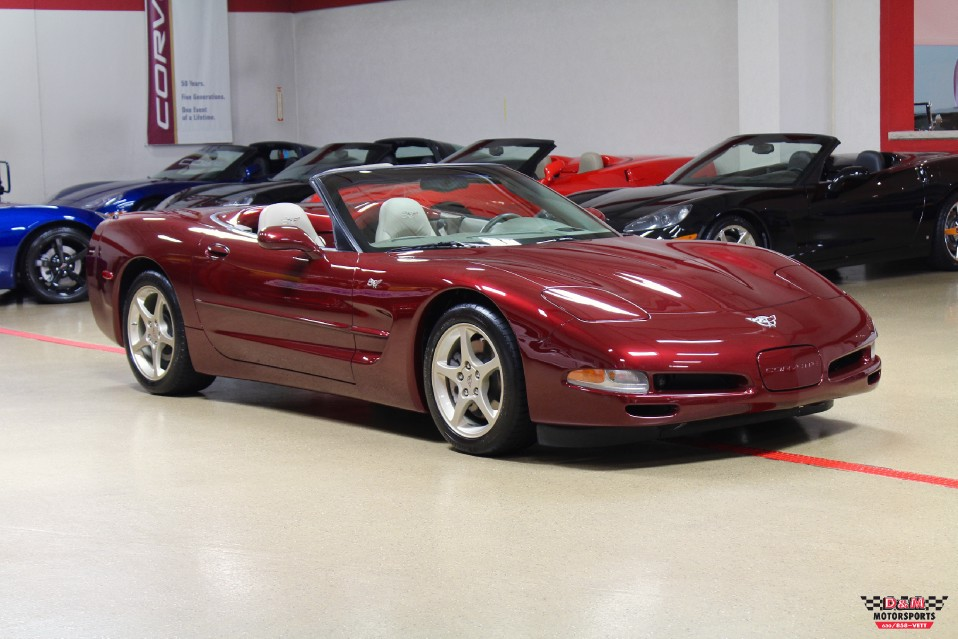 Used 2003 Chevrolet Corvette 50th Anniversary Convertible | Glen Ellyn, IL