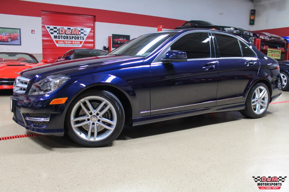 2013 Mercedes Benz C300 4 Matic Stock M5872 For Sale
