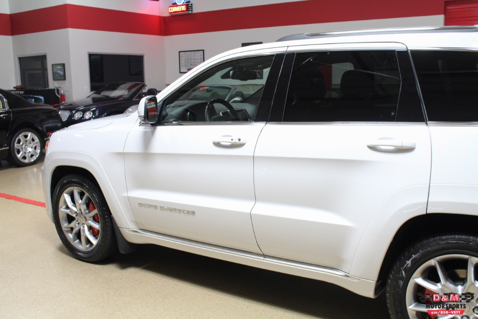 2015 Jeep Grand Cherokee Summit 4wd Stock M5981 For Sale Near