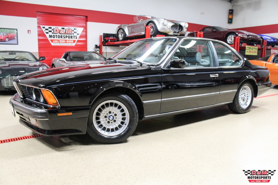 BMW Series CSi Stock M For Sale Near Glen Ellyn - 1988 bmw 6 series
