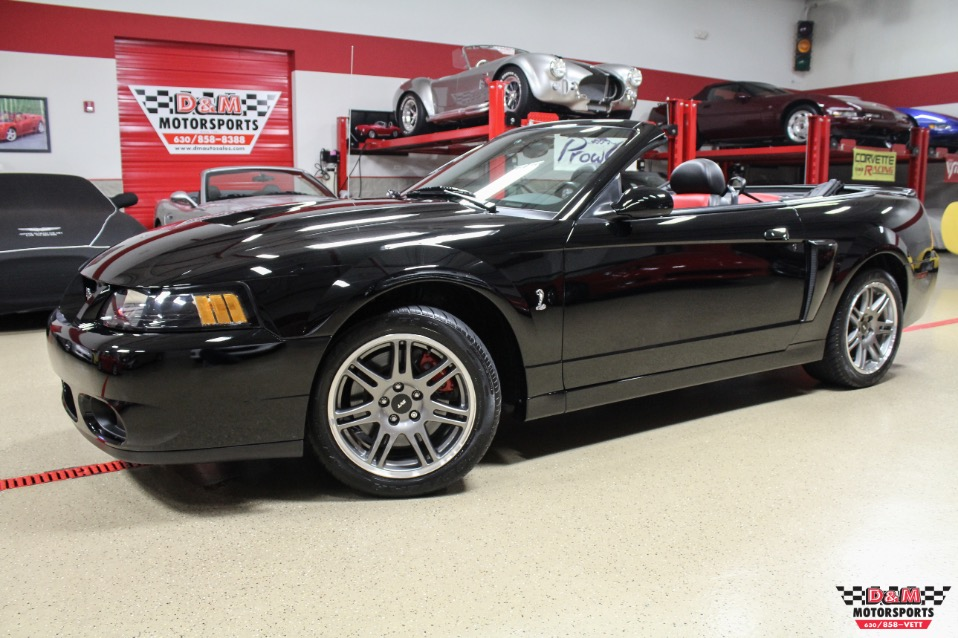 Used 2003 Ford Mustang Svt Cobra 10th Anniversary Convertible Glen Ellyn Il