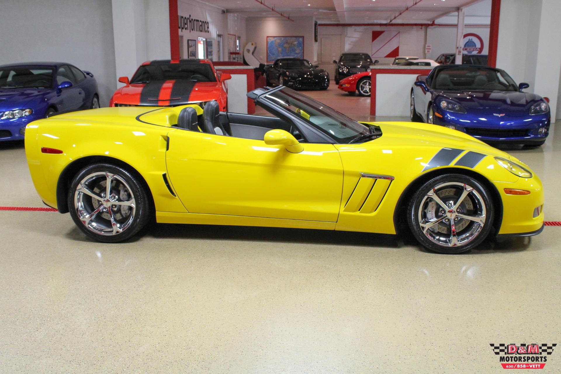 2011 chevrolet corvette grand sport convertible stock # m6081 for