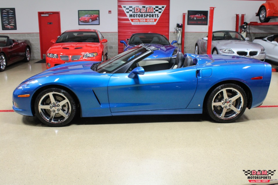 2008 Chevrolet Corvette Convertible Stock M6089 For Sale Near Glen