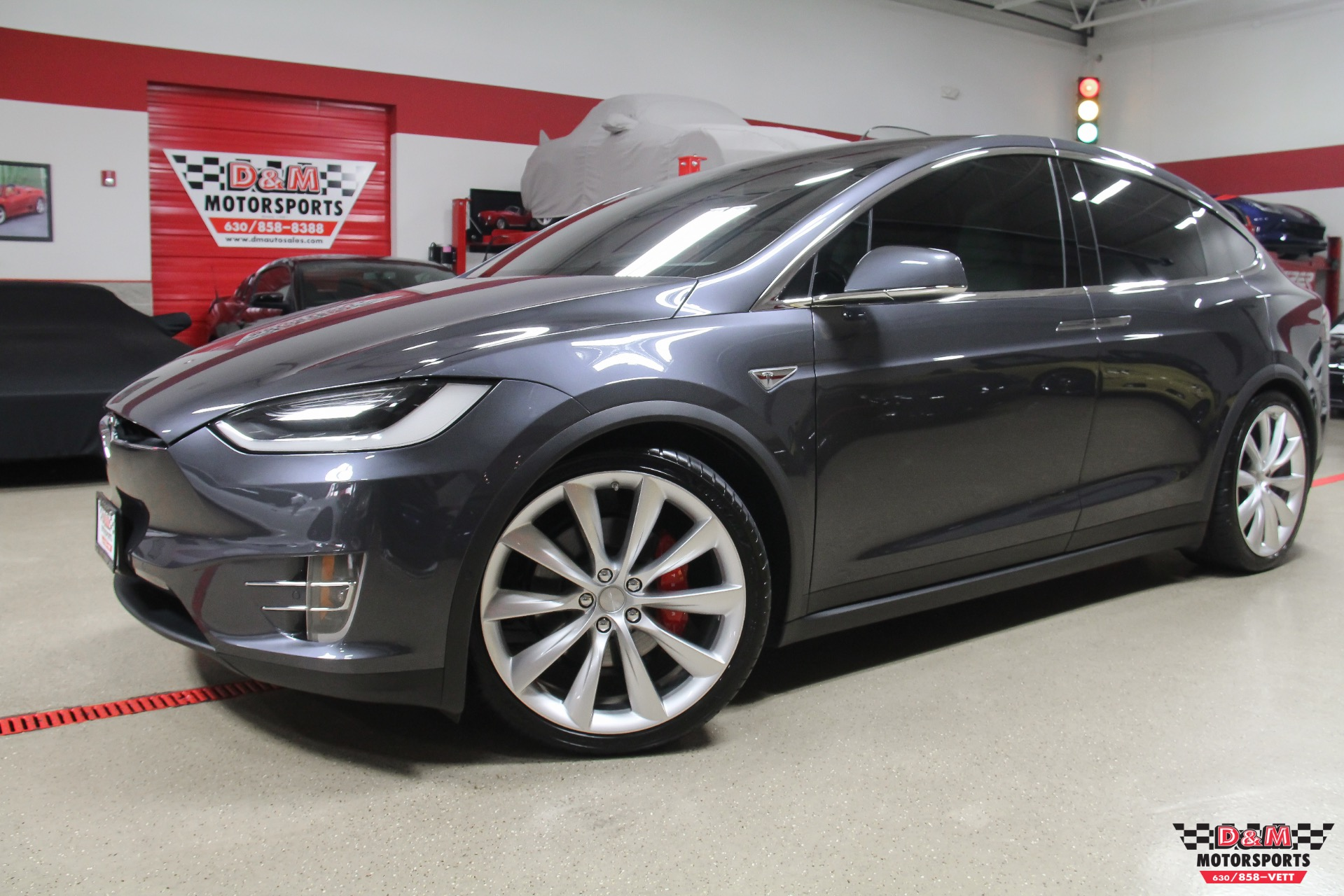 2016 tesla model x p90d stock m6203 for sale near glen ellyn il il tesla dealer. Black Bedroom Furniture Sets. Home Design Ideas