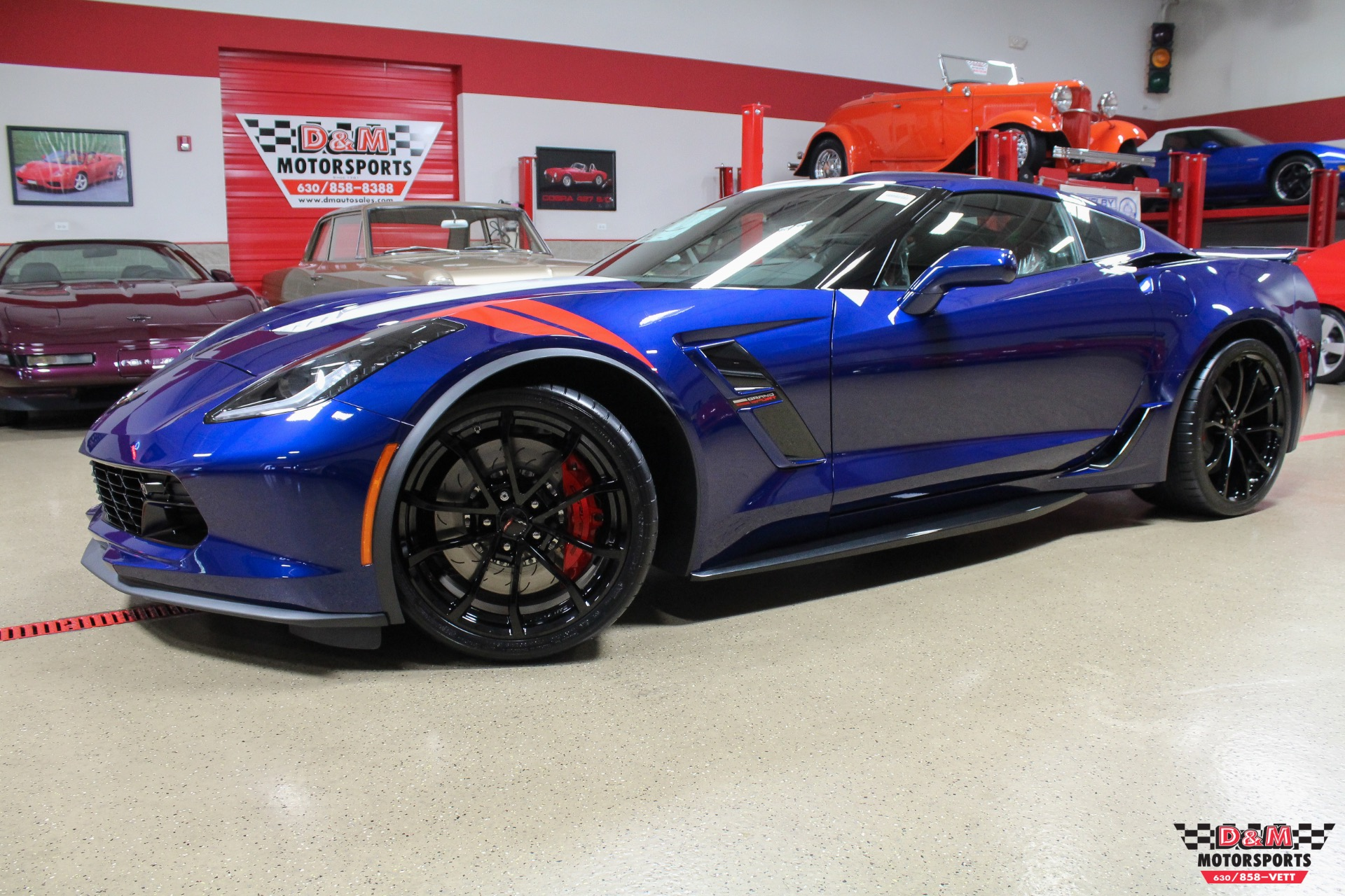 2017 Chevrolet Corvette Stingray Grand Sport Coupe Stock