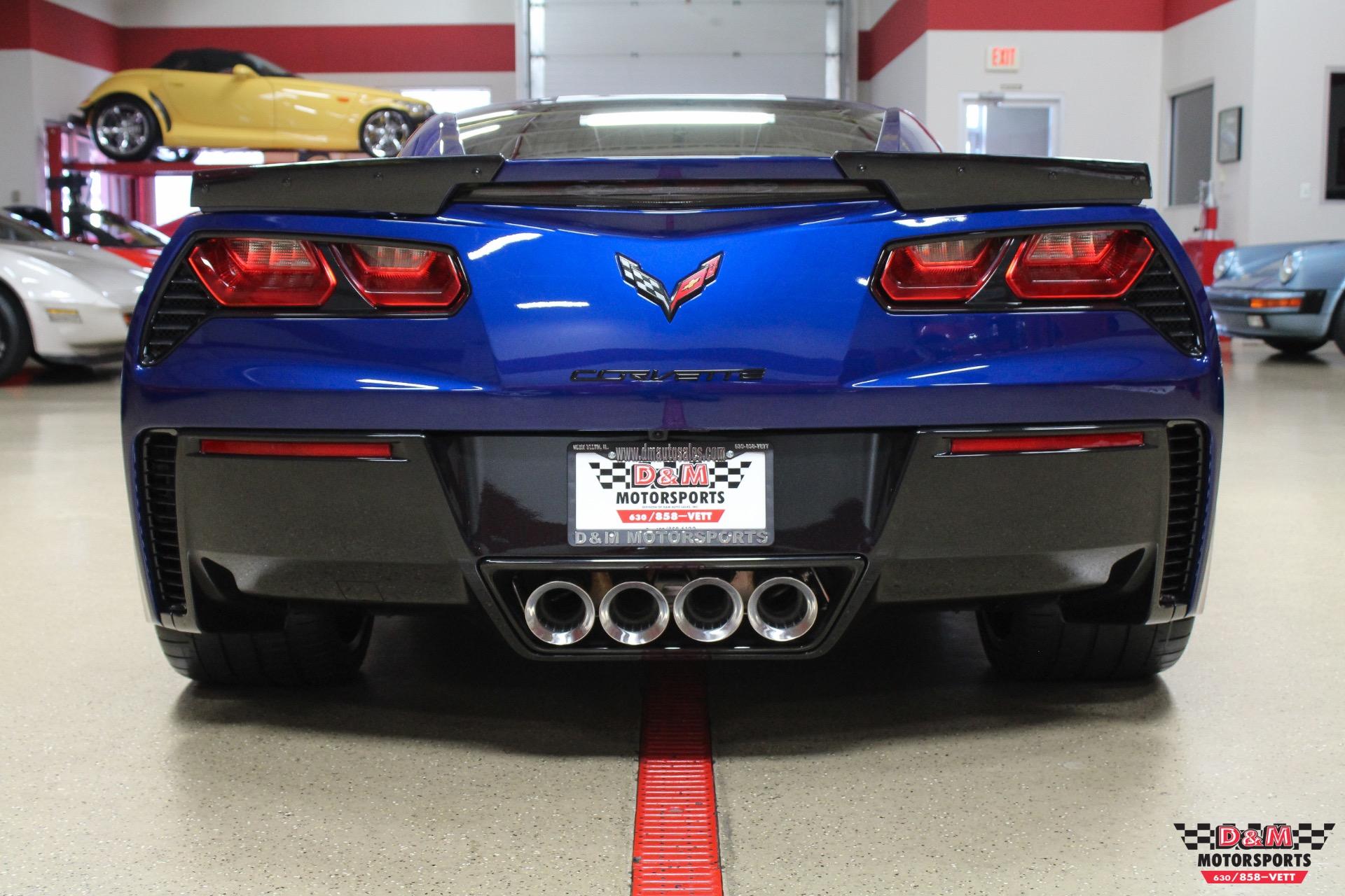 Used 2017 Chevrolet Corvette Stingray Grand Sport Coupe Glen Ellyn Il