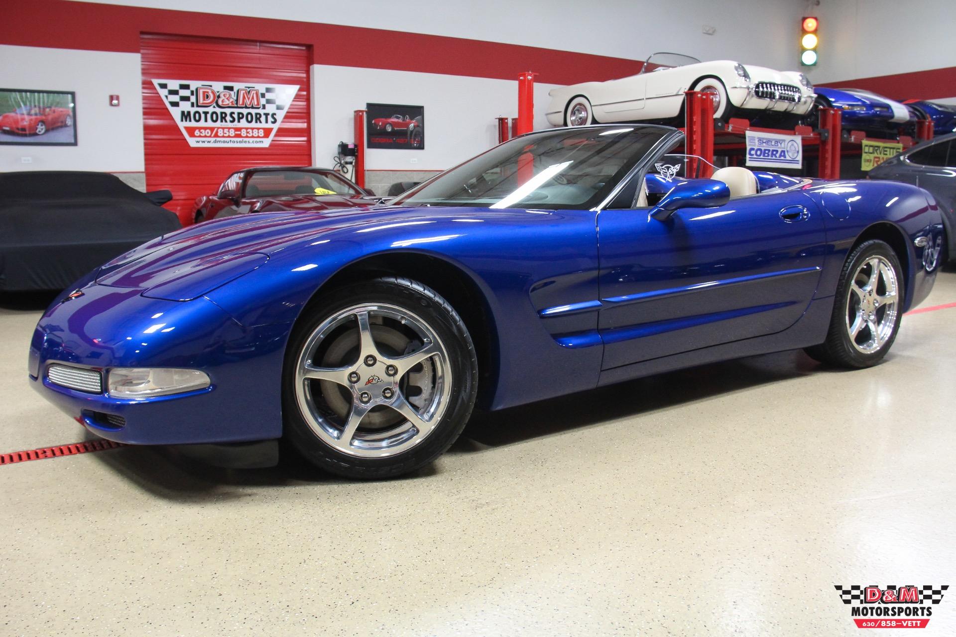2002 Chevrolet Corvette Convertible Stock M6229 For Sale