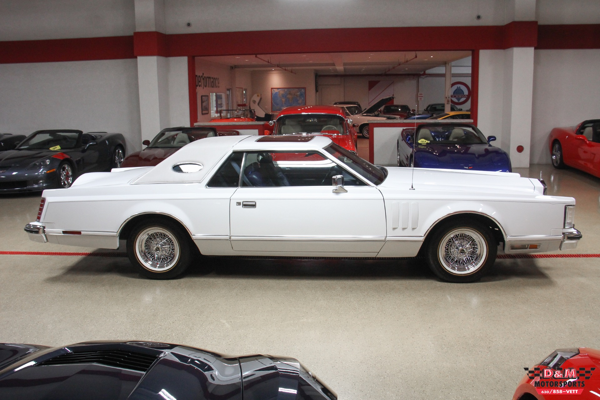 1979 Lincoln Mark V Coupe Stock M6087 For Sale Near Glen