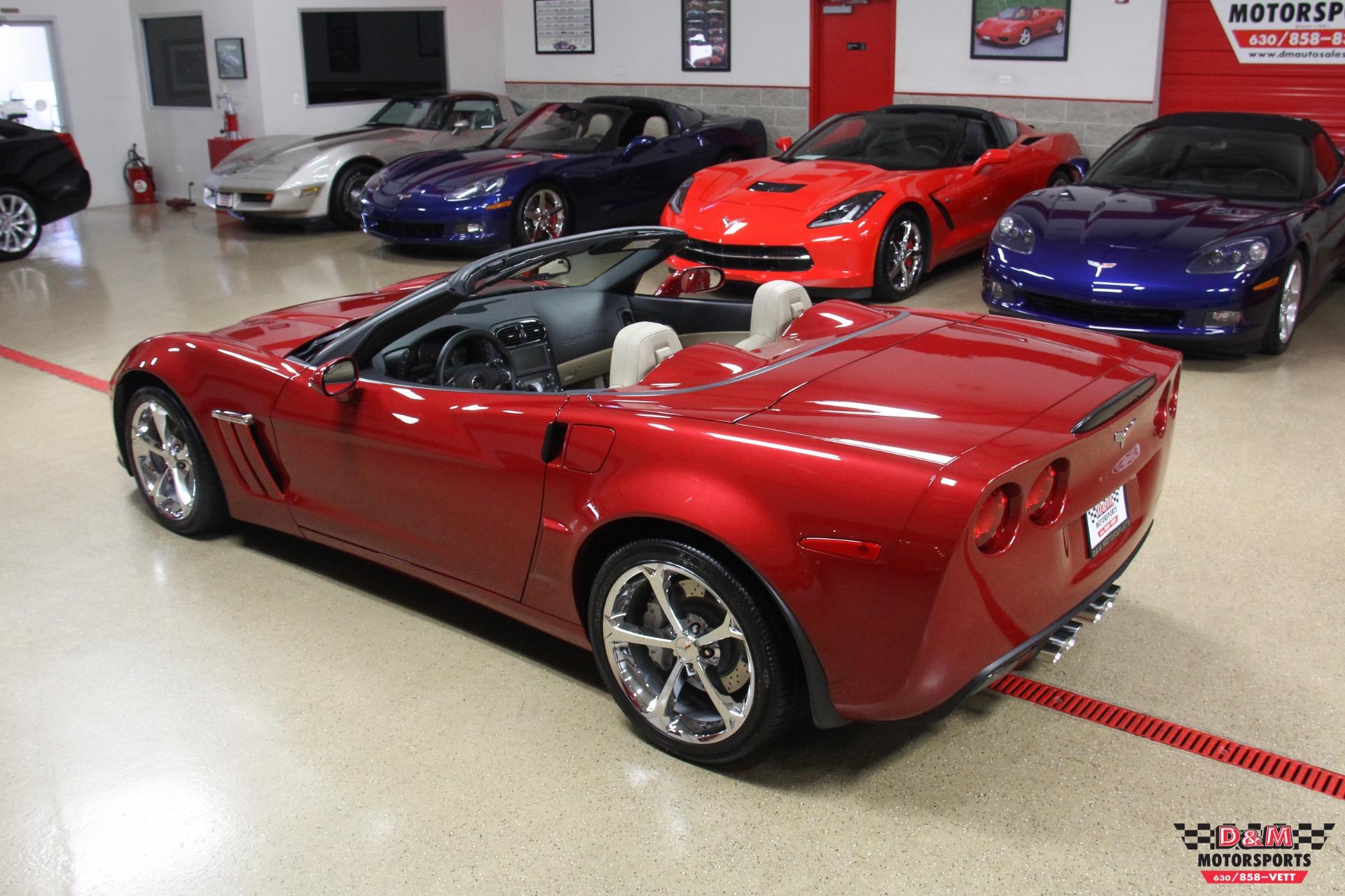 2013 chevrolet corvette grand sport convertible stock m6292 for sale near glen ellyn il il. Black Bedroom Furniture Sets. Home Design Ideas