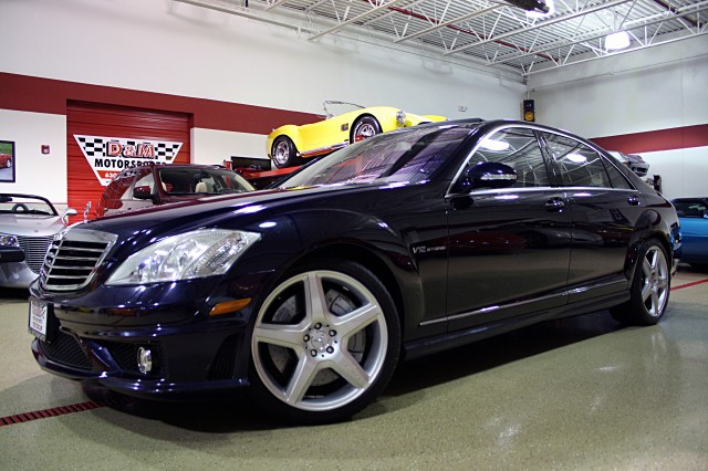 2007 mercedes benz s class s65 amg stock m4207 for sale near glen ellyn il il mercedes benz. Black Bedroom Furniture Sets. Home Design Ideas