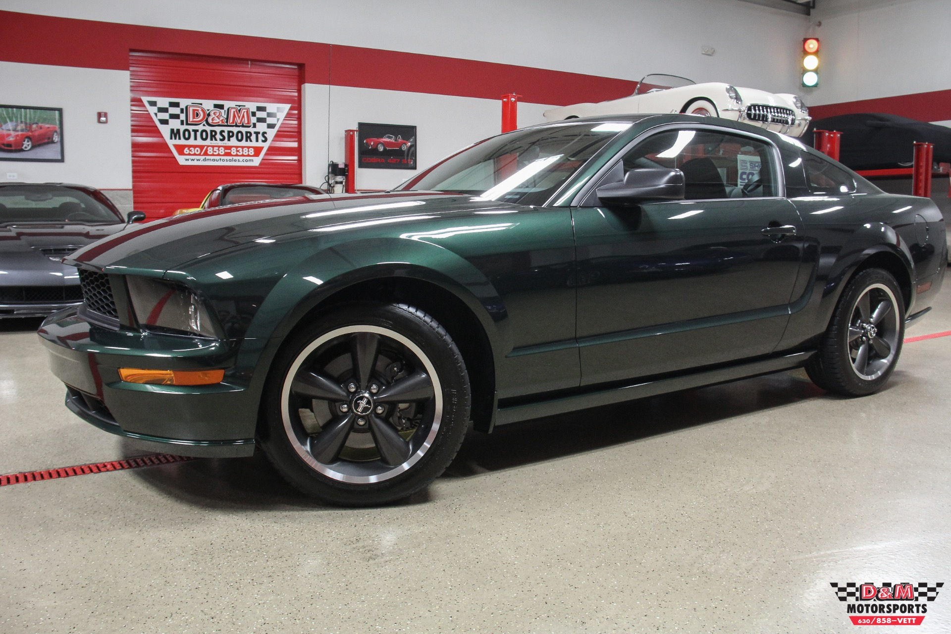 2008 ford mustang bullitt stock m6322 for sale near glen ellyn il il ford dealer. Black Bedroom Furniture Sets. Home Design Ideas