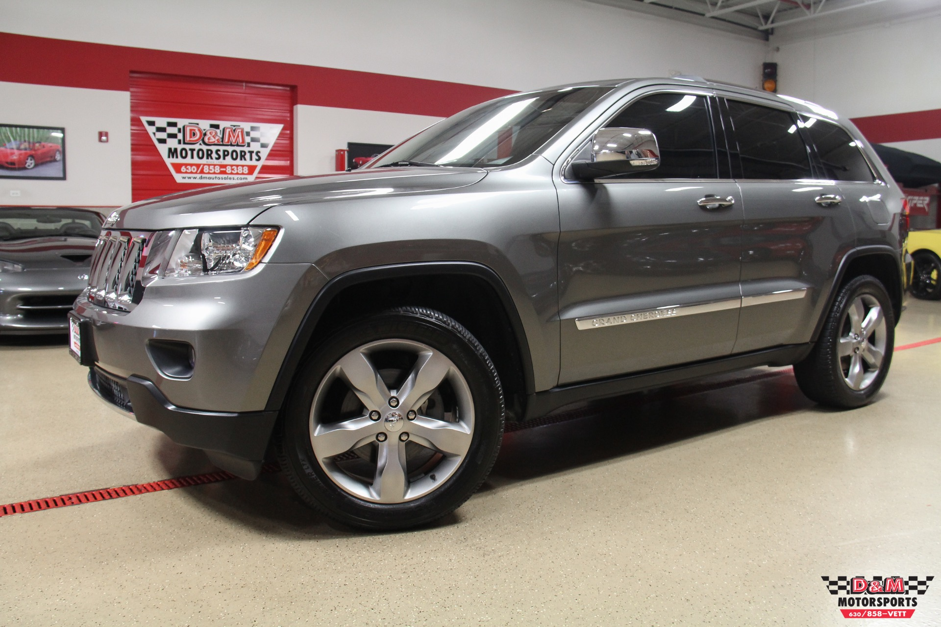 2011 Jeep Grand Cherokee Overland 4wd Stock M6449 For Sale Near Glen Ellyn Il Il Jeep Dealer