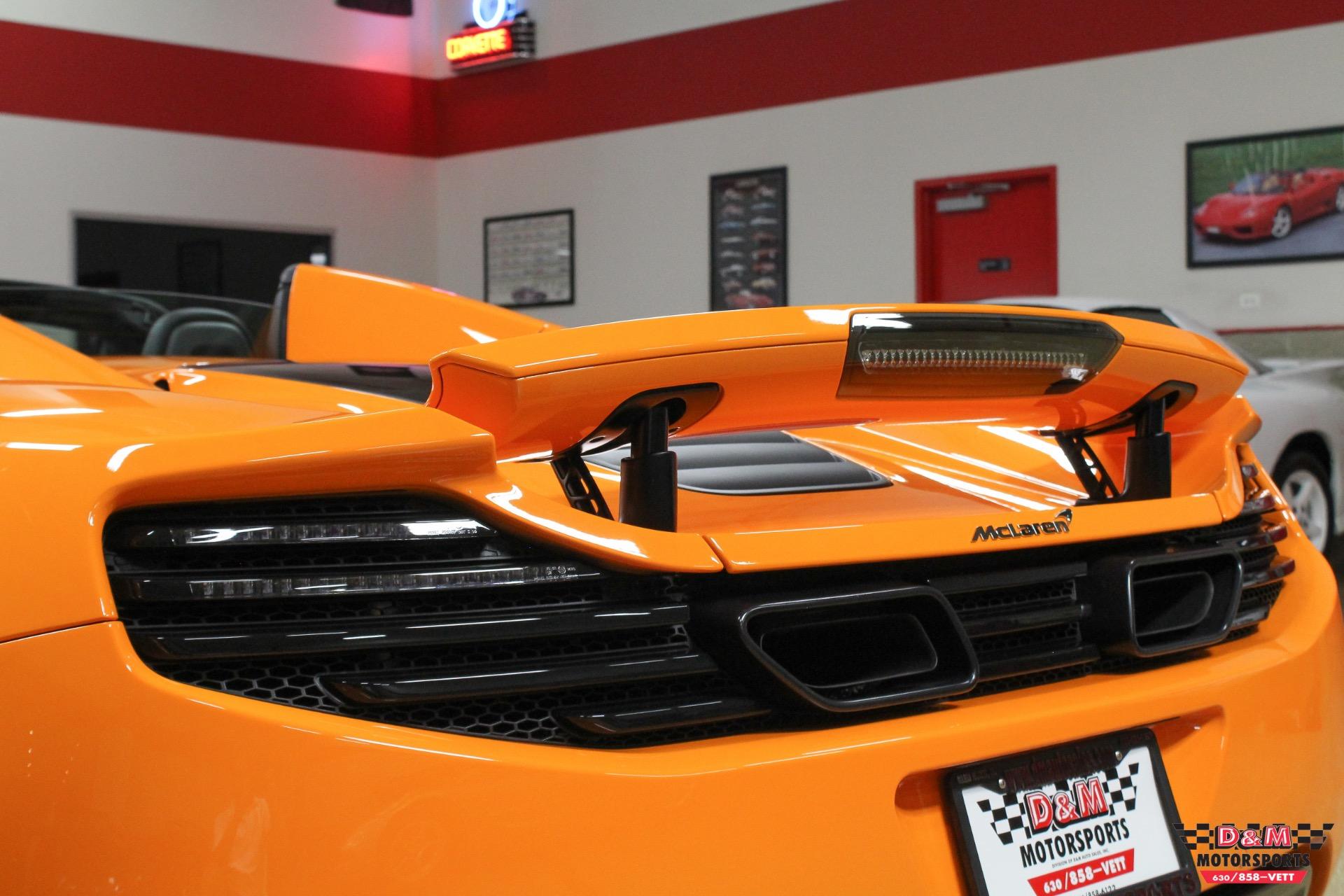 Used 2013 McLaren MP4-12C Spider  | Glen Ellyn, IL