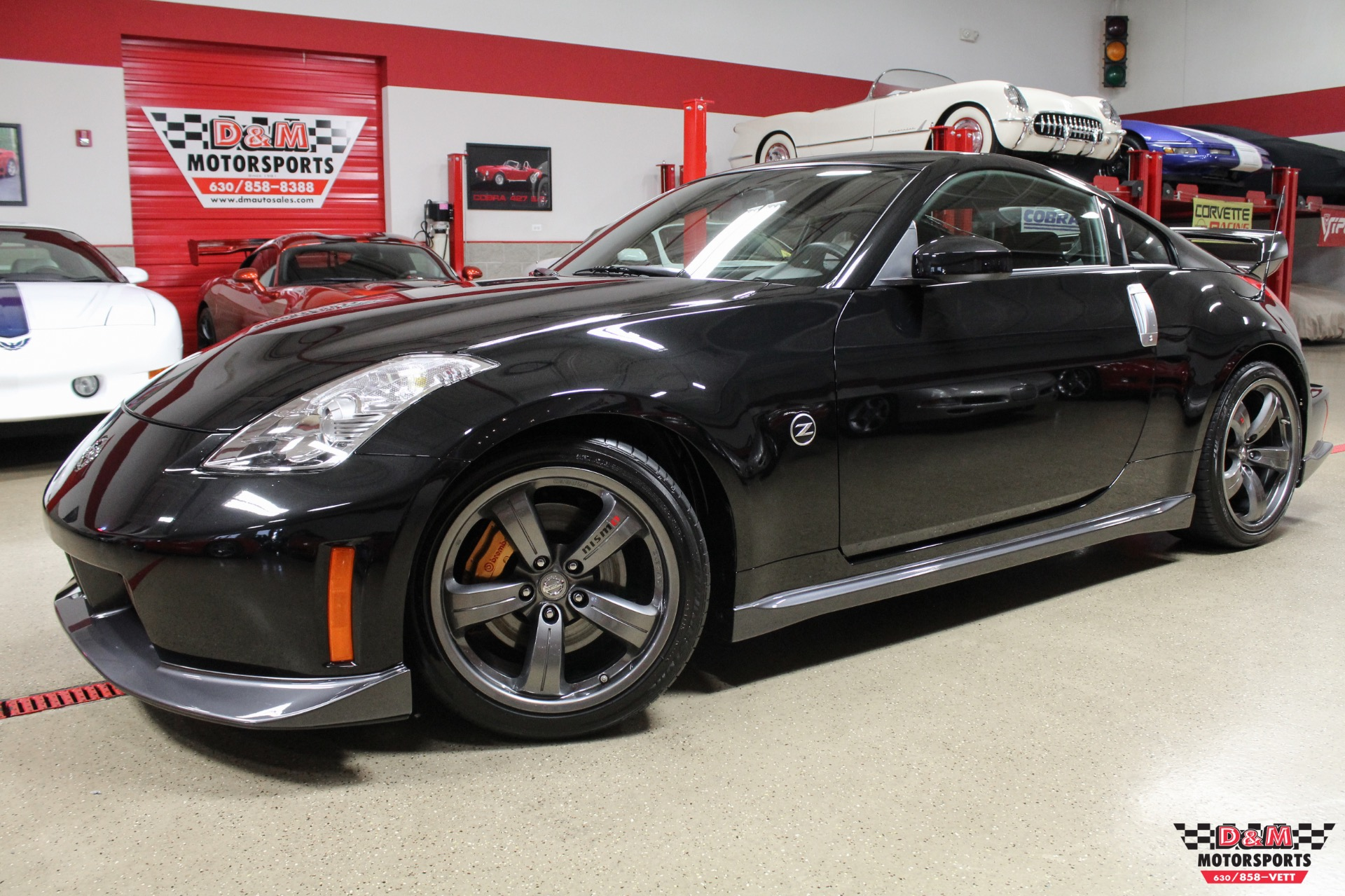 2008 nissan 350z nismo stock m6592 for sale near glen. Black Bedroom Furniture Sets. Home Design Ideas