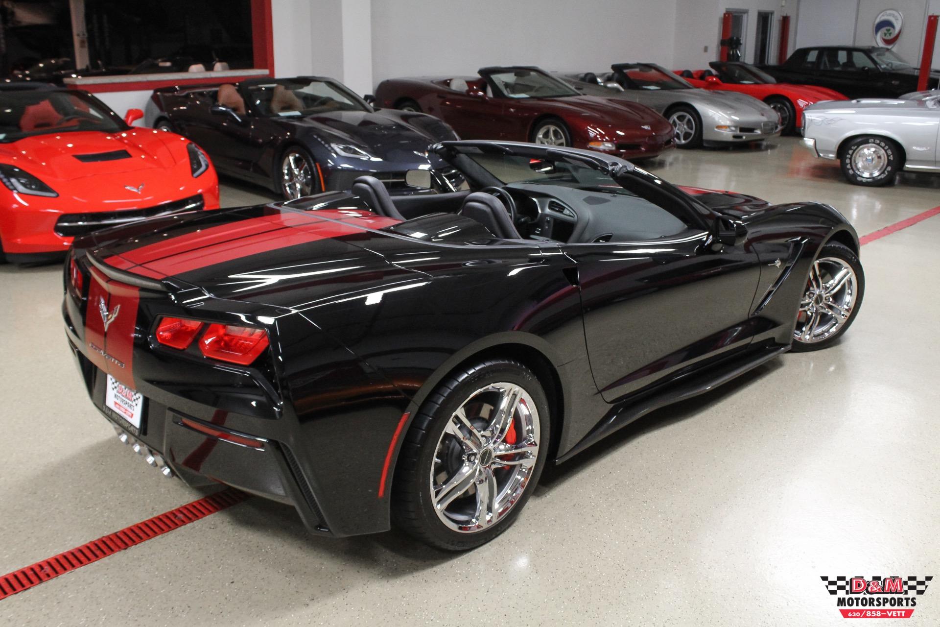 2016 Chevrolet Corvette Stingray Convertible Stock M6612 for sale