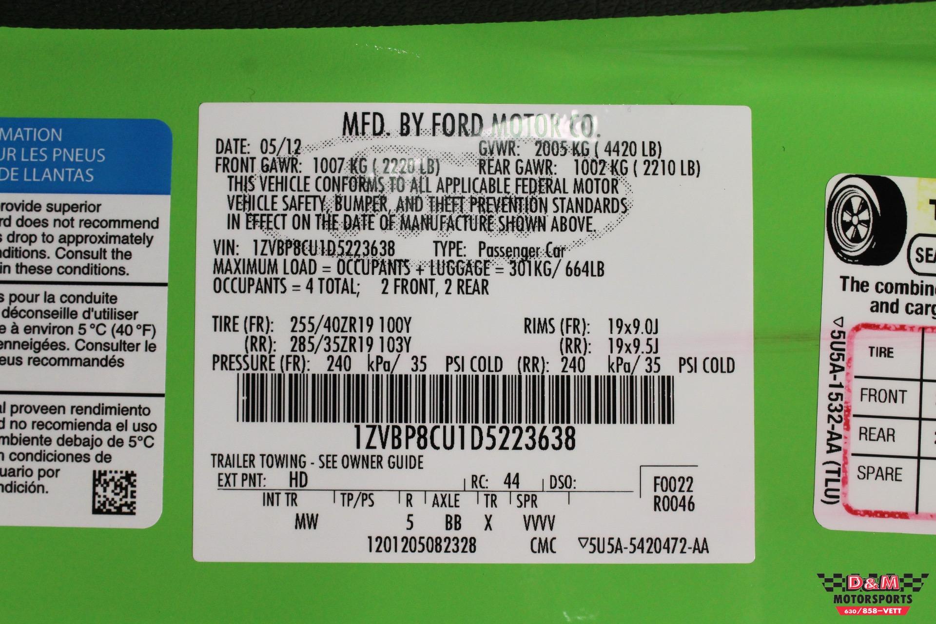 Used 2013 Ford Mustang Boss 302   Glen Ellyn, IL