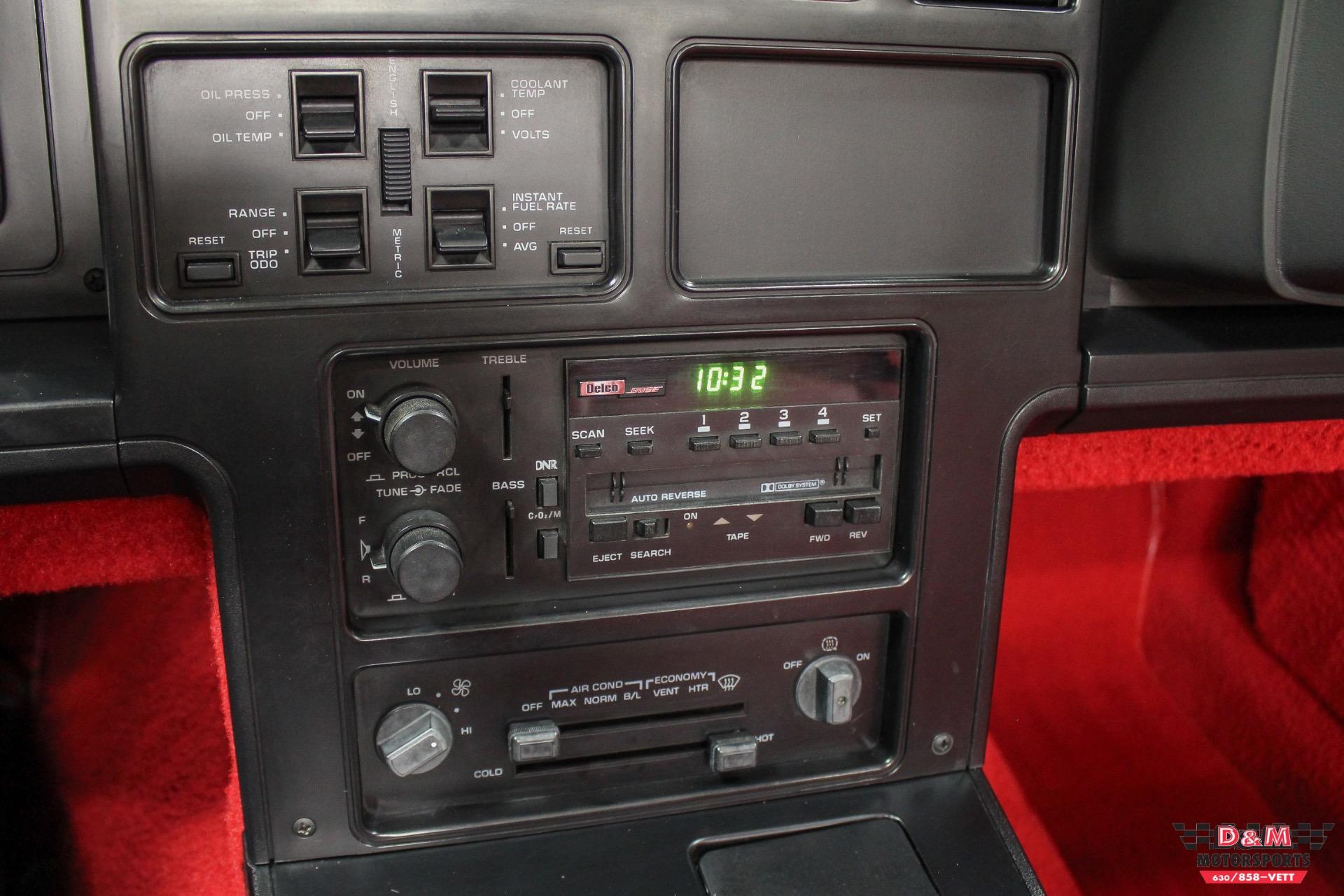 Used 1988 Chevrolet Corvette Convertible | Glen Ellyn, IL