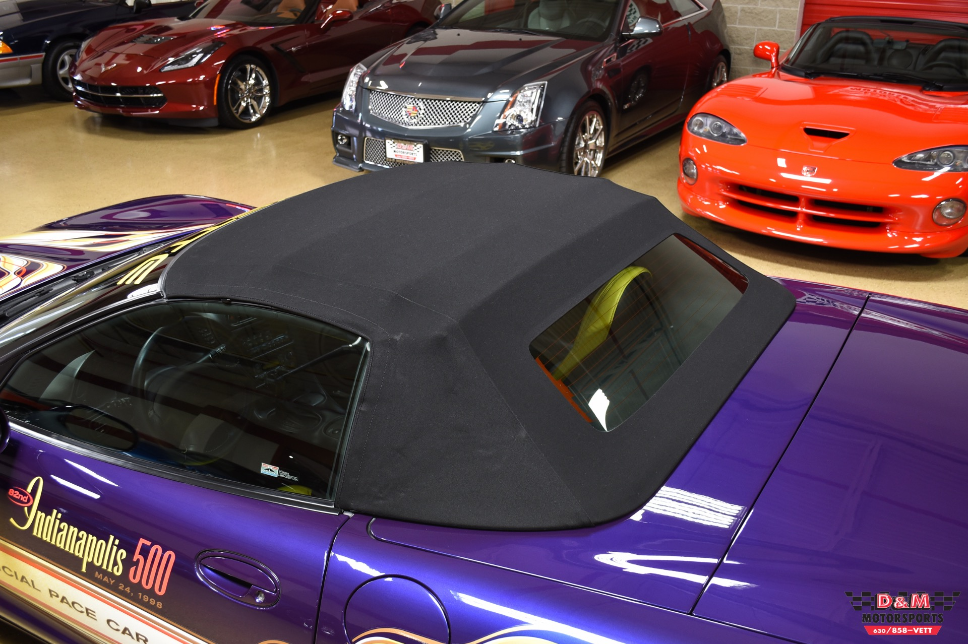 Used 1998 Chevrolet Corvette Convertible Pace Car   Glen Ellyn, IL