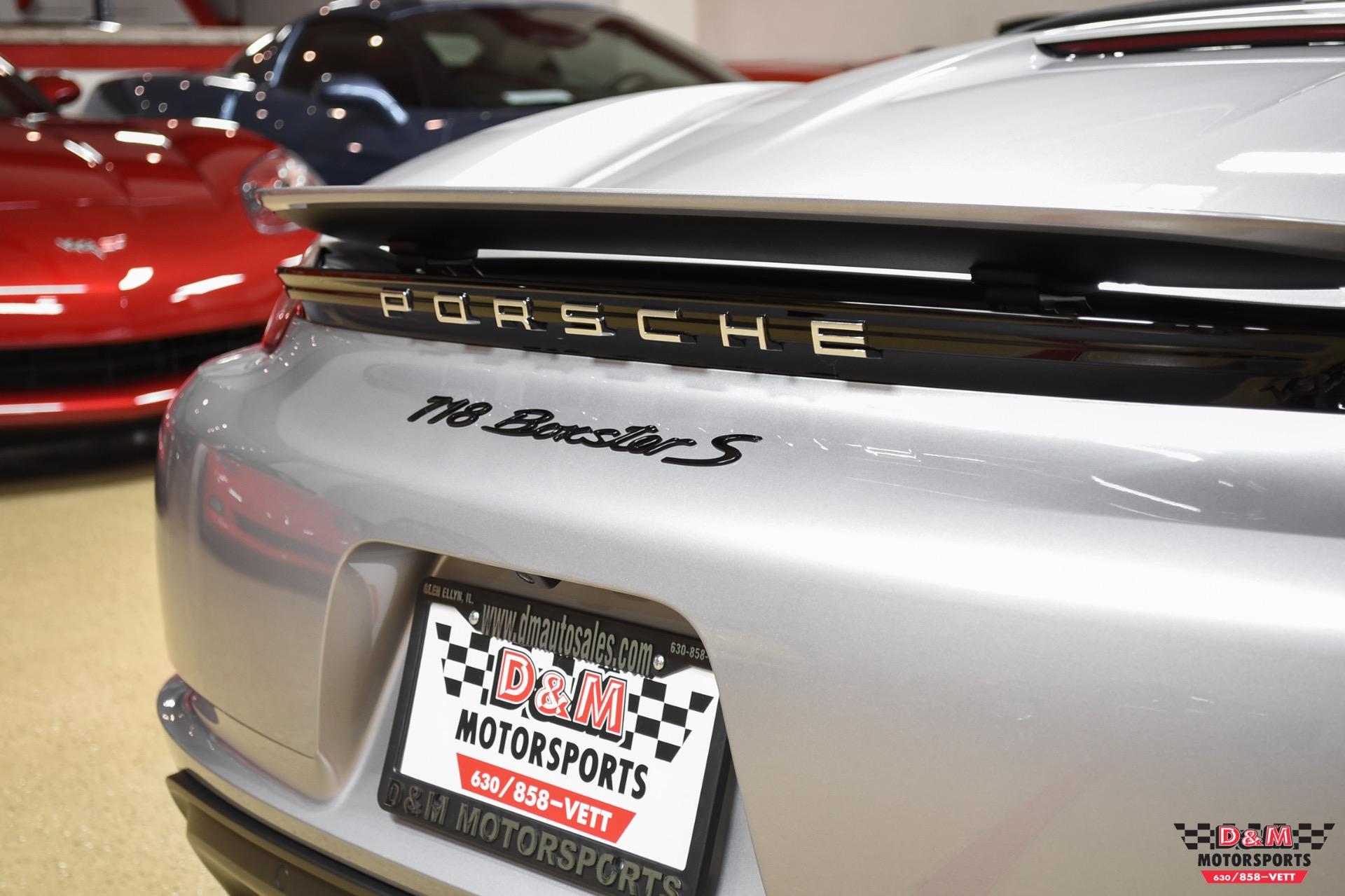 Used 2017 Porsche 718 Boxster S | Glen Ellyn, IL