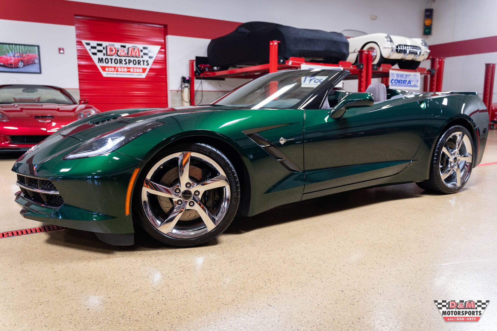 Used 2014 Chevrolet Corvette Stingray Convertible Premier Edition W/Z51 | Glen Ellyn, IL