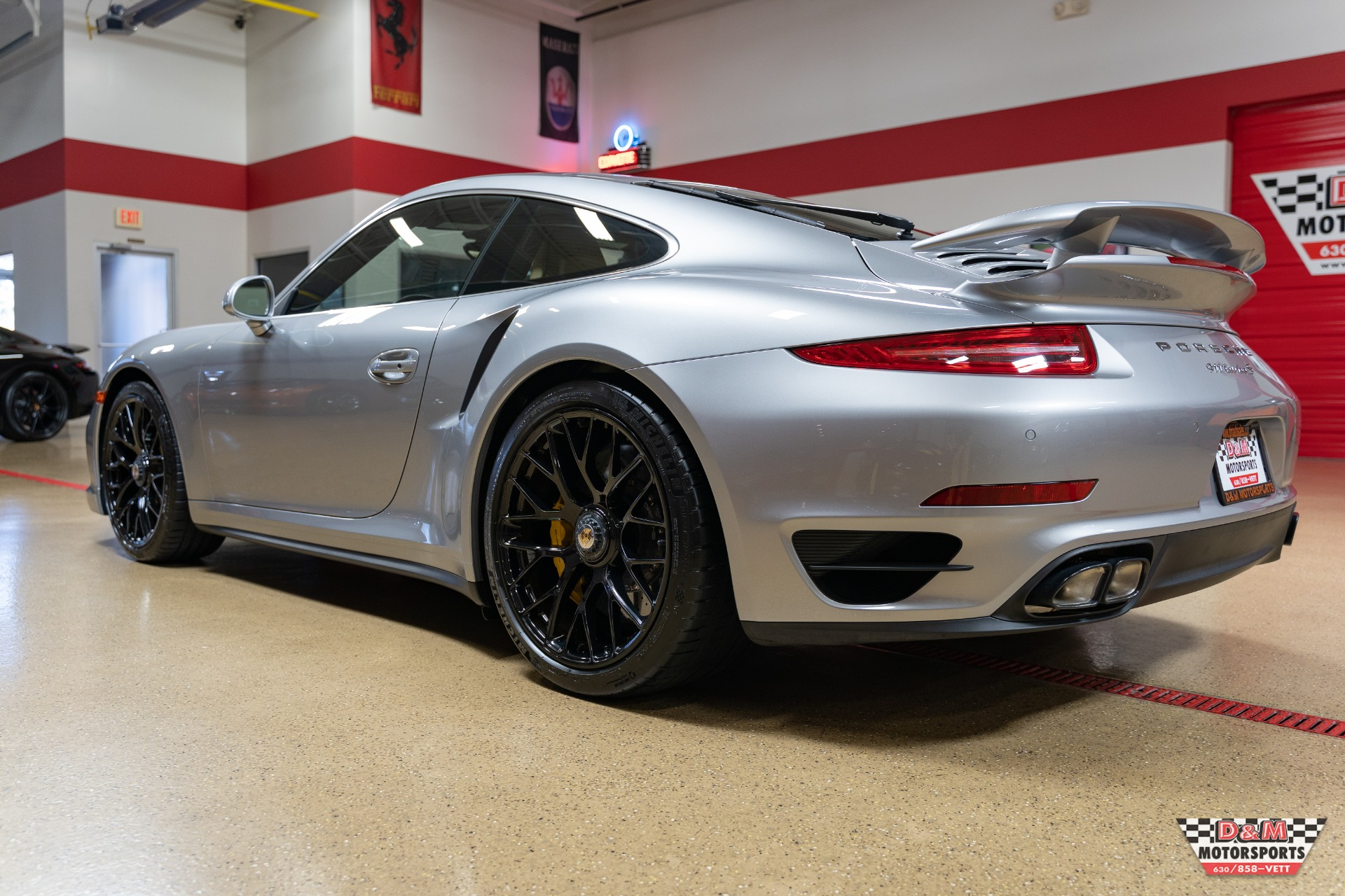 Used 2015 Porsche 911 Turbo S Coupe | Glen Ellyn, IL