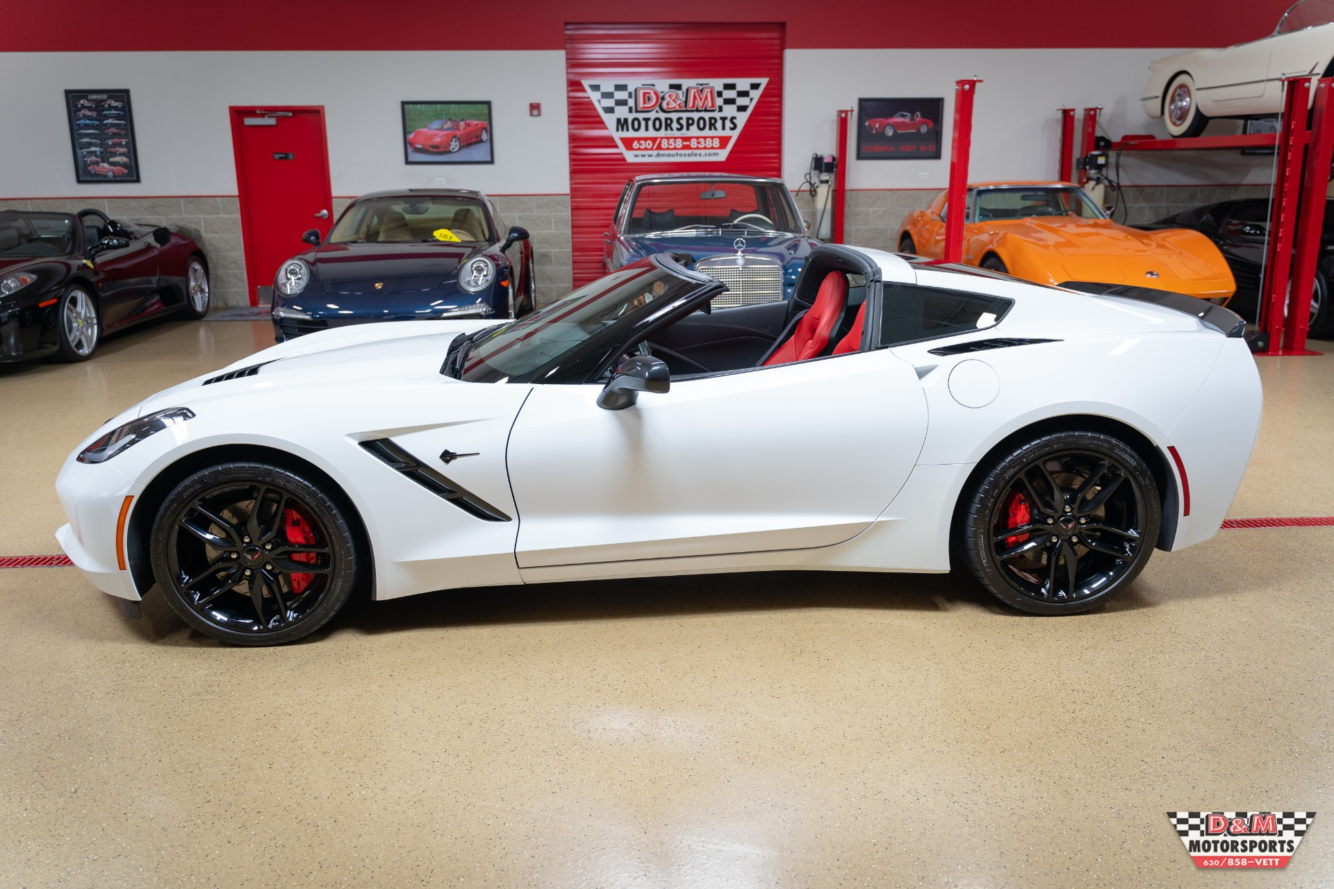 Used 2016 Chevrolet Corvette Stingray Coupe W/Z51 | Glen Ellyn, IL