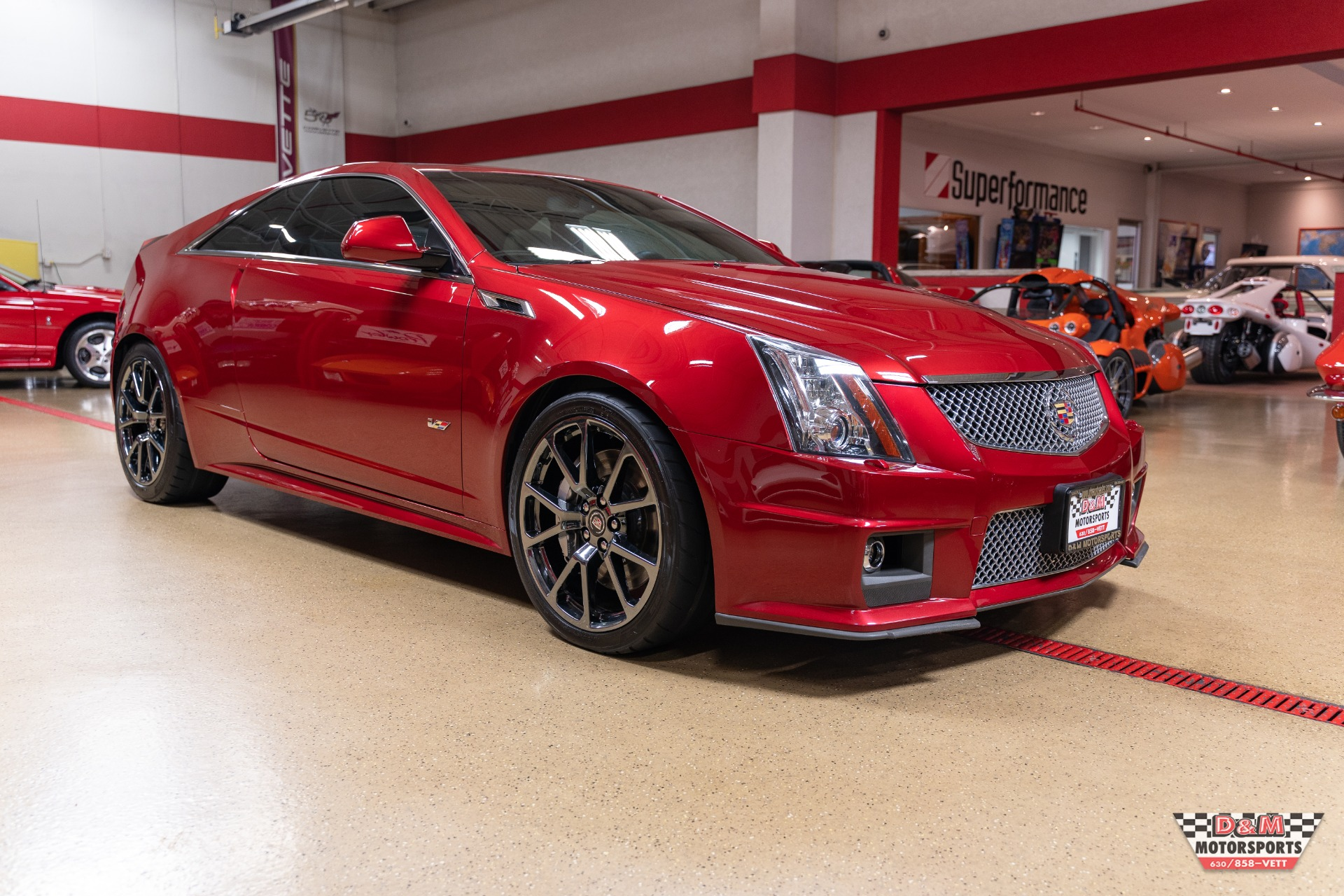 2011 Cadillac CTS-V Coupe Stock # M6953 for sale near Glen ...