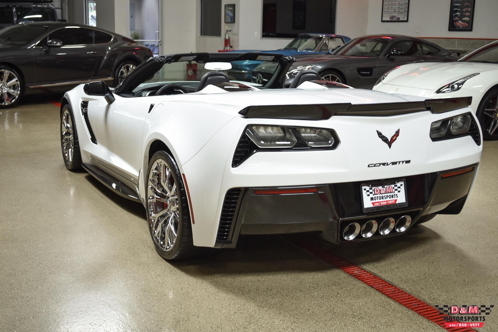 Used 2017 Chevrolet Corvette Z06 Convertible   Glen Ellyn, IL