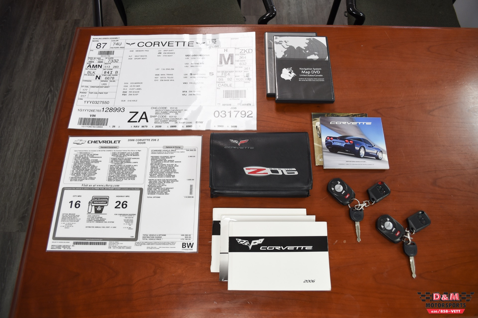 Used 2006 Chevrolet Corvette Z06 | Glen Ellyn, IL