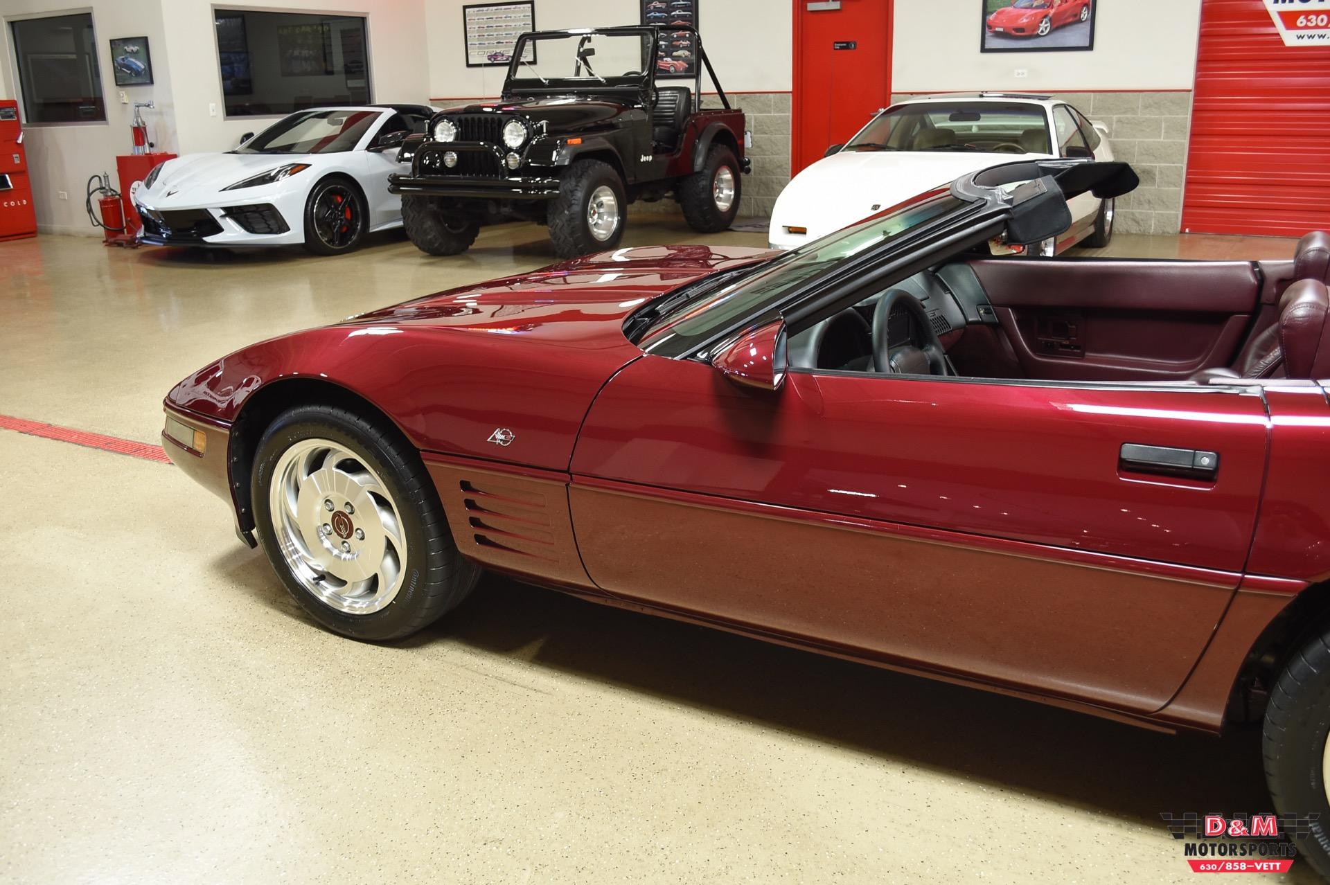 Used 1993 Chevrolet Corvette 40th Anniversary Convertible | Glen Ellyn, IL