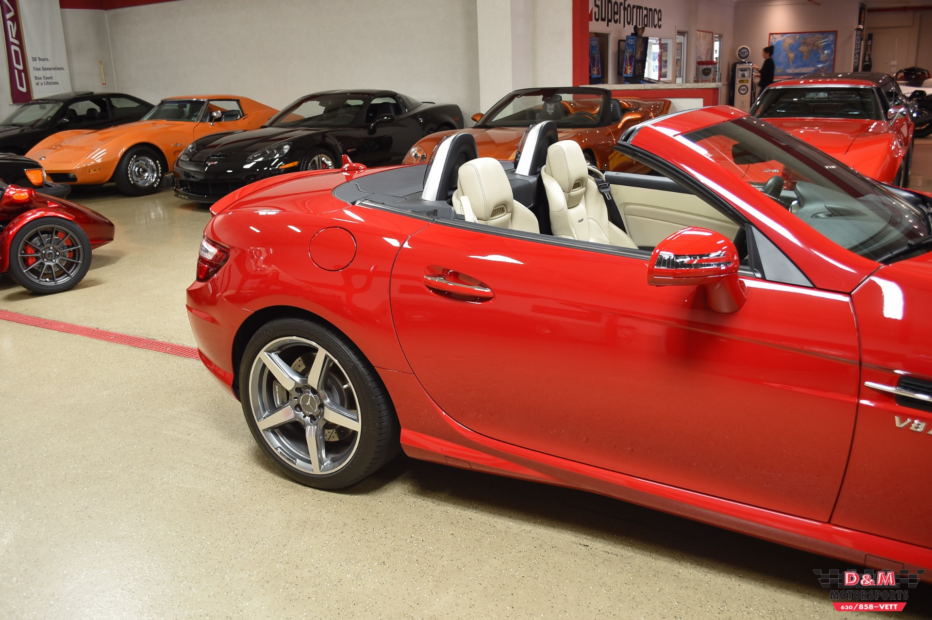 Used 2013 Mercedes-Benz SLK 55 AMG | Glen Ellyn, IL