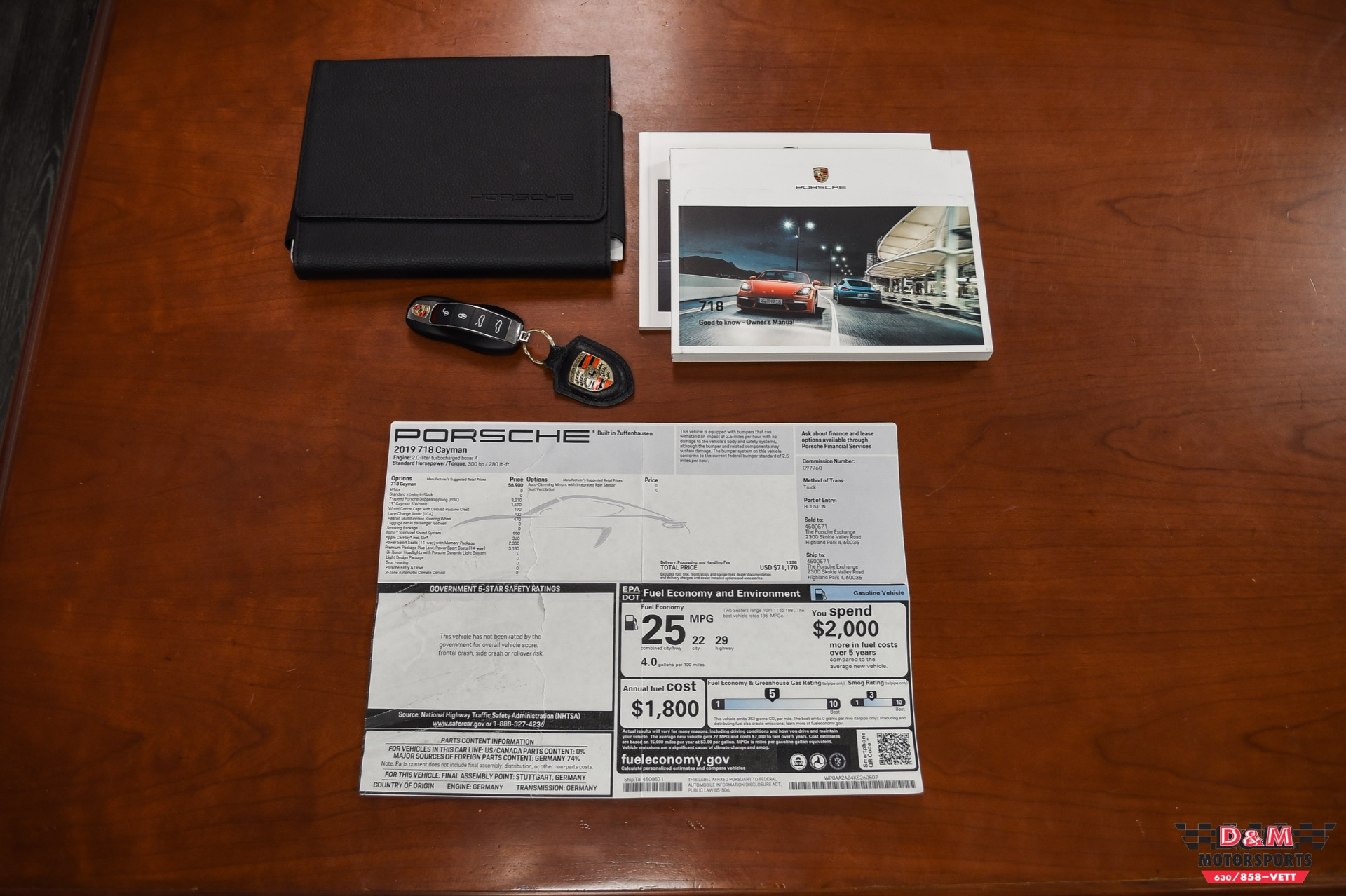 Used 2019 Porsche 718 Cayman  | Glen Ellyn, IL