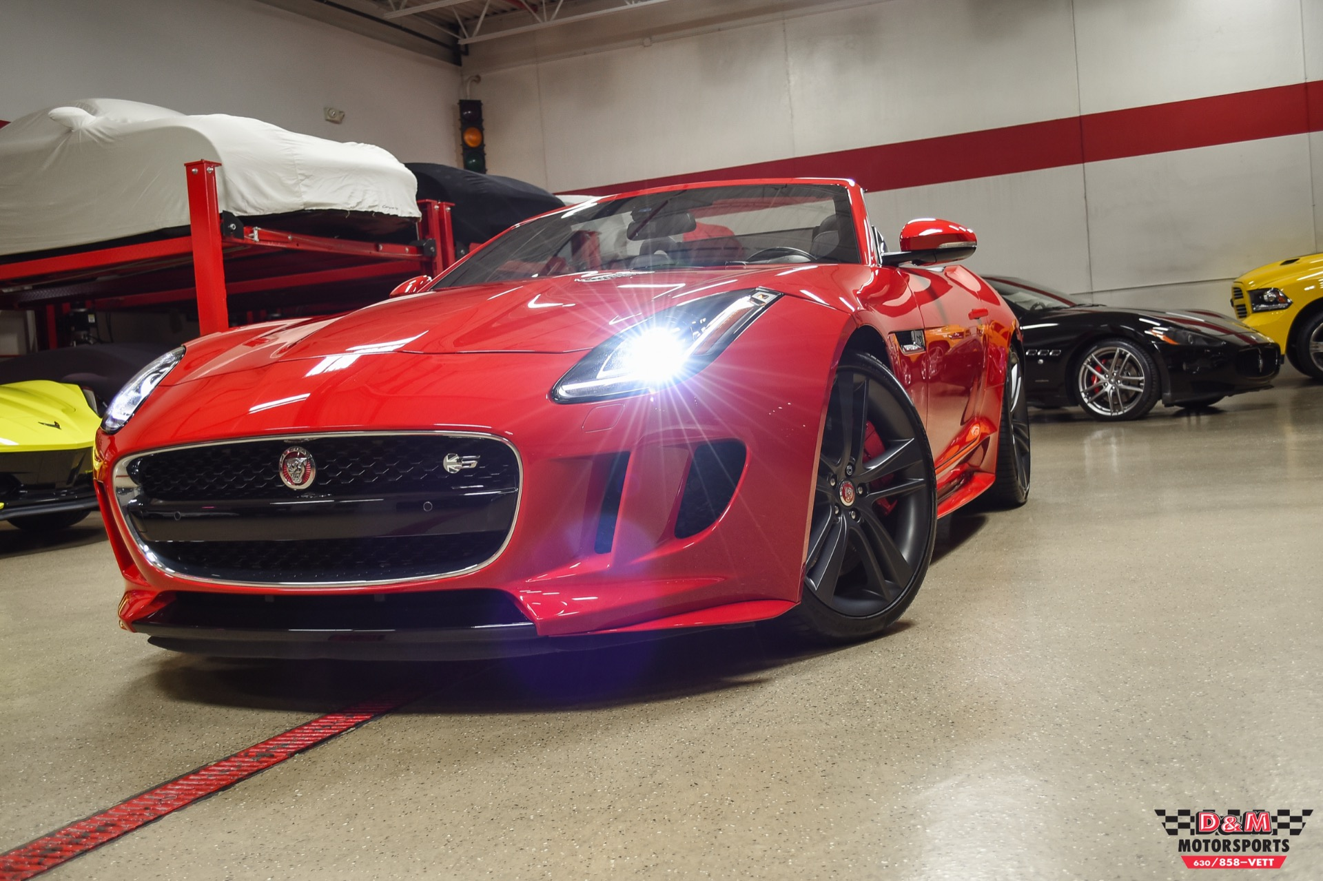Used 2017 Jaguar F-TYPE S British Design Edition Convertible | Glen Ellyn, IL