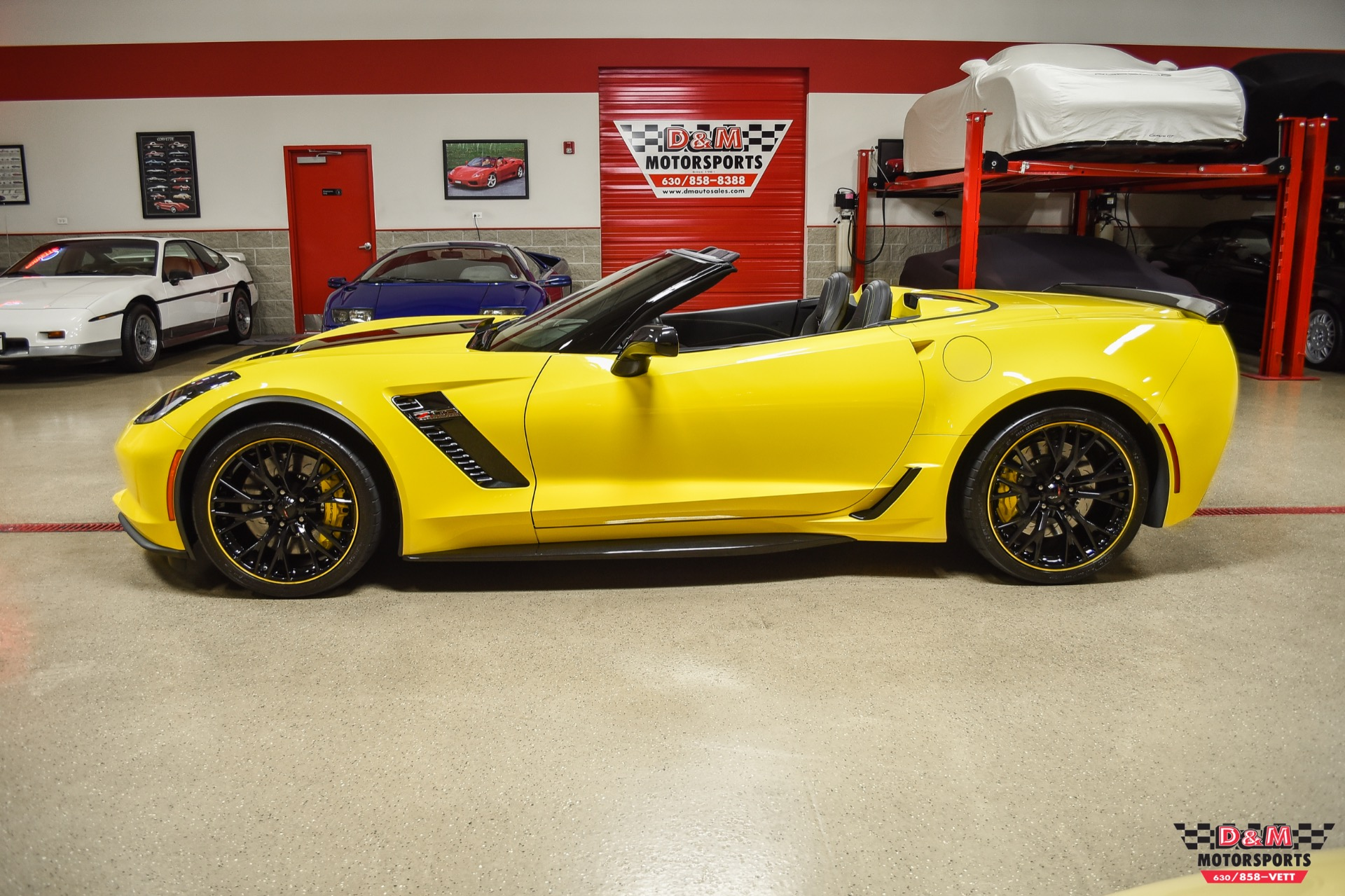 Used 2018 Chevrolet Corvette Z06 Convertible | Glen Ellyn, IL