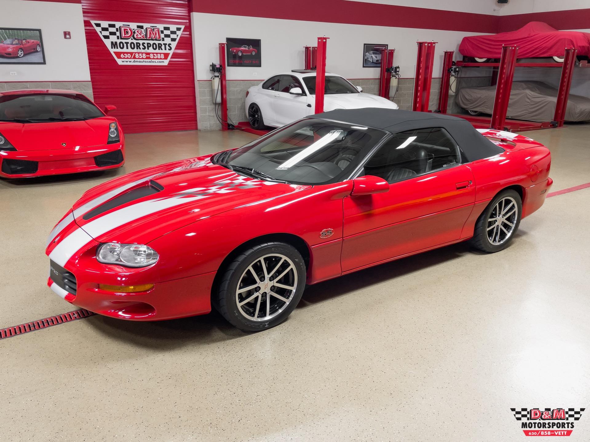 Used 2002 Chevrolet Camaro SS 35th anniversary Convertible | Glen Ellyn, IL