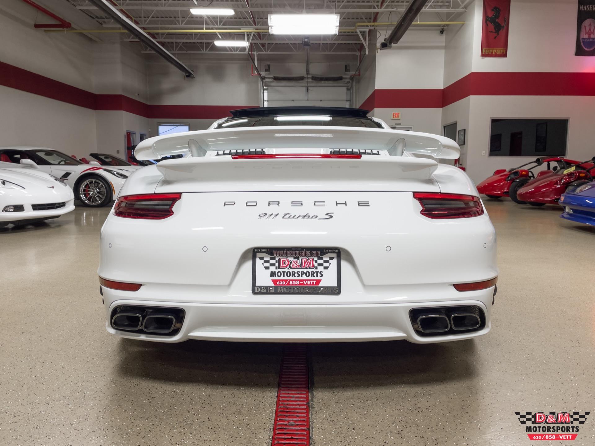 Used 2018 Porsche 911 Turbo S Coupe | Glen Ellyn, IL