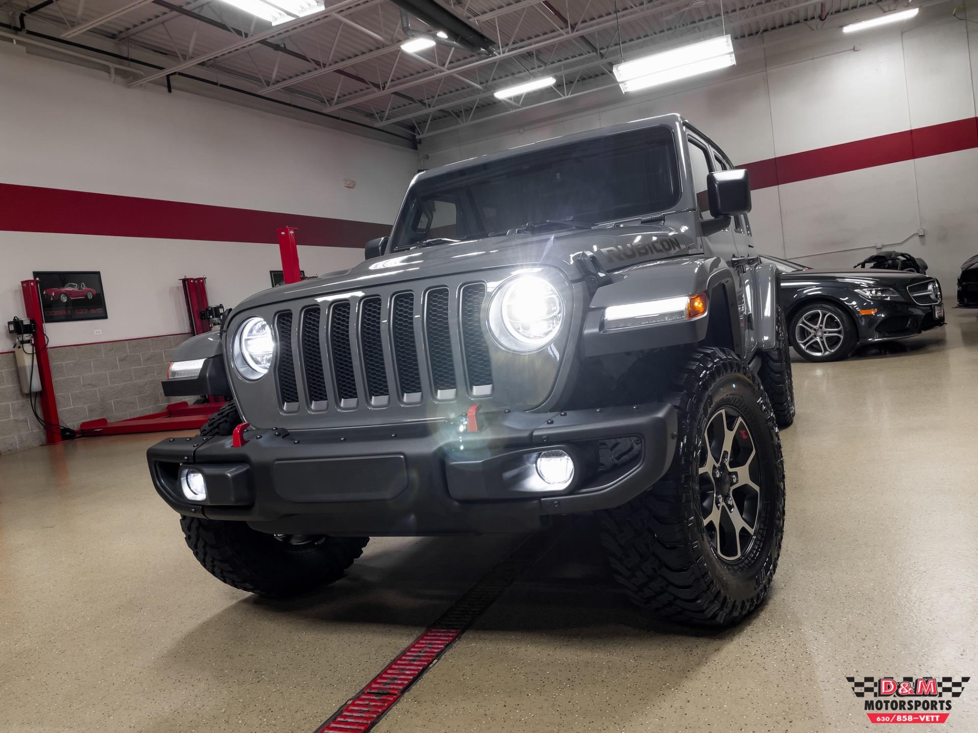 Used 2021 Jeep Wrangler Unlimited Rubicon | Glen Ellyn, IL