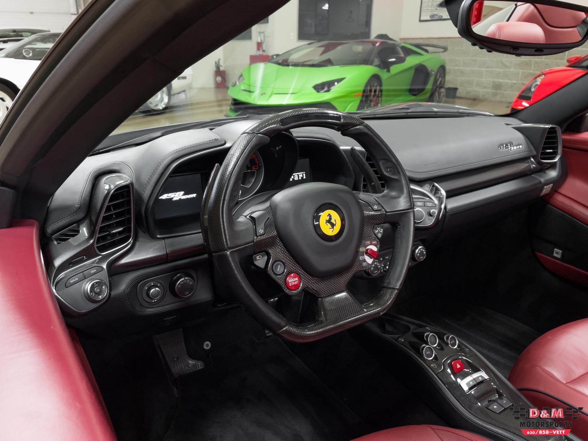 Used 2012 Ferrari 458 Spider  | Glen Ellyn, IL