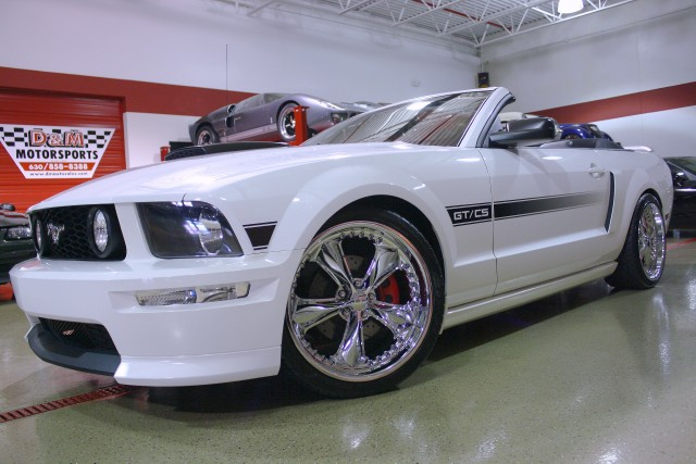 2007 ford mustang gt premium california special stock m4409 for sale near glen ellyn il il. Black Bedroom Furniture Sets. Home Design Ideas
