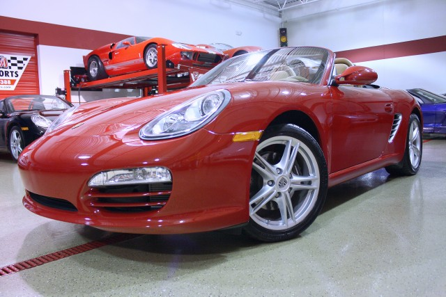 2009 porsche boxster convertible stock m4501 for sale near glen ellyn il il porsche dealer. Black Bedroom Furniture Sets. Home Design Ideas